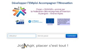 Pass Rhone Alpes - plateforme web JOB AGIR