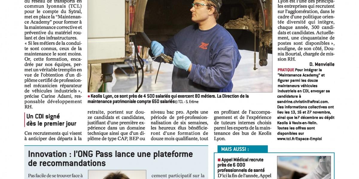 Article LE PROGRES DU 13 NOVEMBRE 2017-page-0