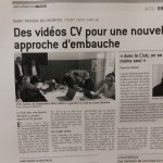LE PROGRES BRESSE 5 02 2018 VIDEOCV ST TRIVIER